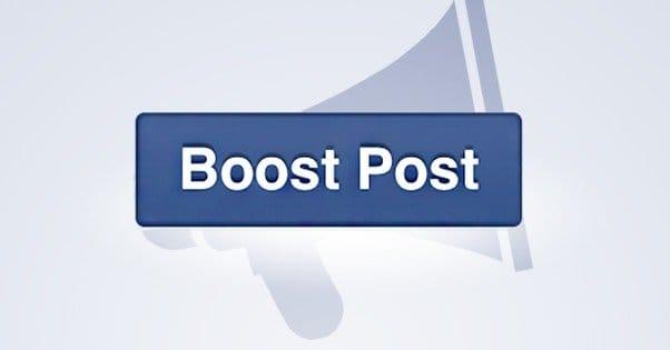como habilitar botão de impulsionar do Facebook